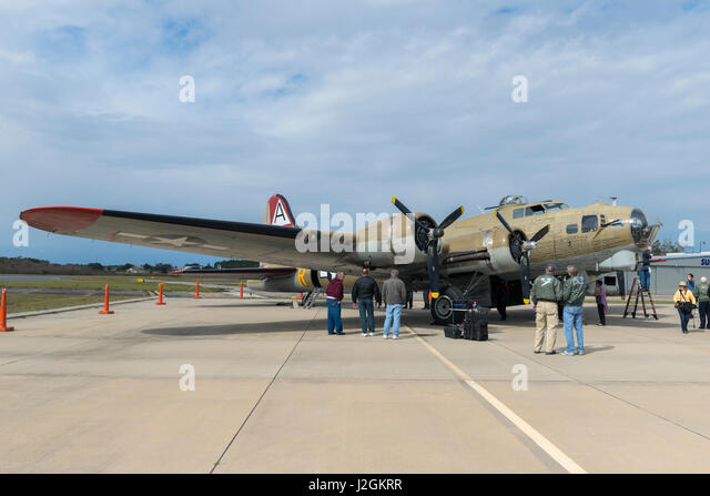 USA, Florida, Leesburg, American B-17, Boeing (Large format sizes available) - Stock Image