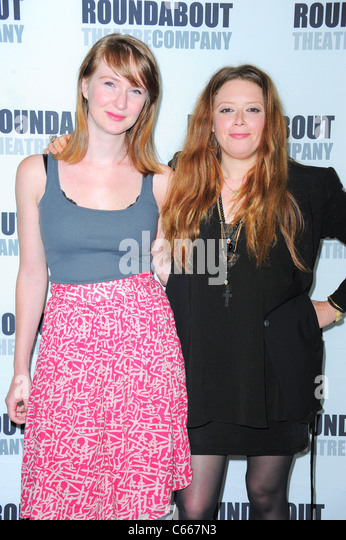 Halley Feiffer, Natasha Lyonne in attendance for Roundabout Theatre Company's TIGERS BE STILL Cast Photo, Roundabout - Stock Image