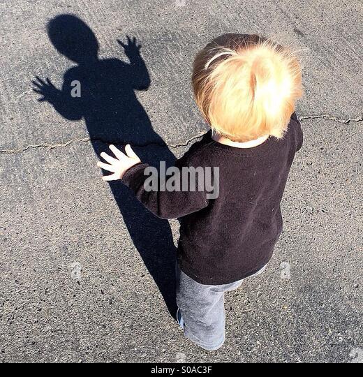 Shadow Dance - Stock Image