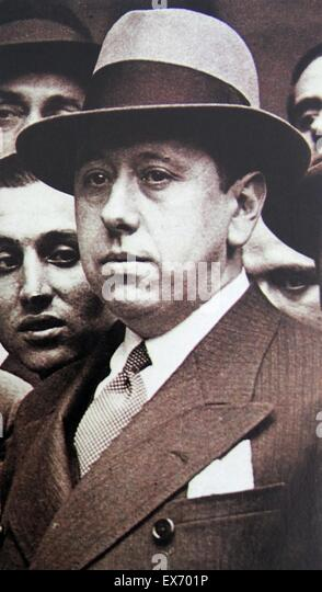 José María Gil-Robles y a prominent Spanish politician in the period leading up to the Spanish Civil War, - Stock Image