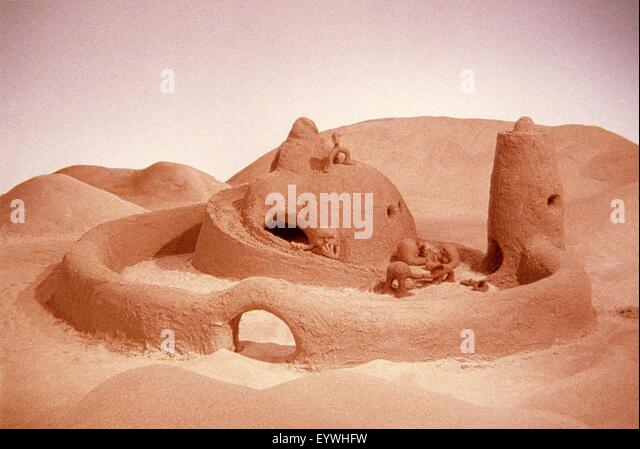 The Sand Castle ; Year : 1977 Canada ; Director : Co Hoedeman ; Animation - Stock Image