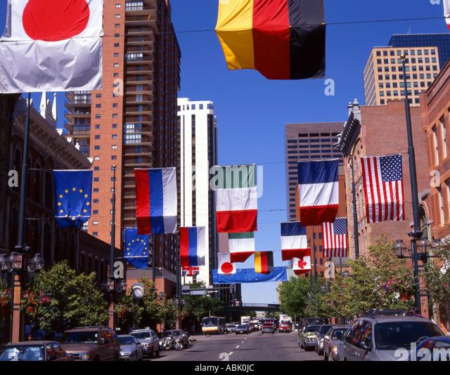 Larimer Street Denver Stock Photos & Larimer Street Denver