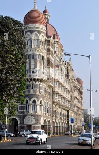 Taj Mahal Hotel, Colaba district, Mumbai, Maharashtra, India, Asia - Stock Image