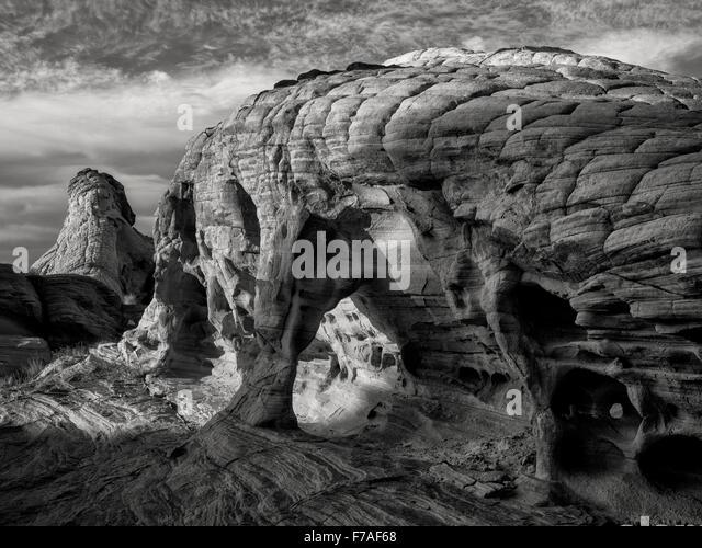 Rock formation. Valley of Fire State Park, Nevada - Stock-Bilder