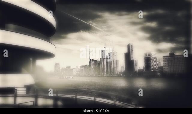 Skyscraper blur - Stock-Bilder