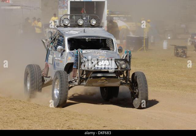 Jun 06, 2009 - Valle de la Trinidad, Baja Norte, Mexico - KEVIN CARR, winner of Class 5 (Unlimited VW Baja bugs), - Stock Image