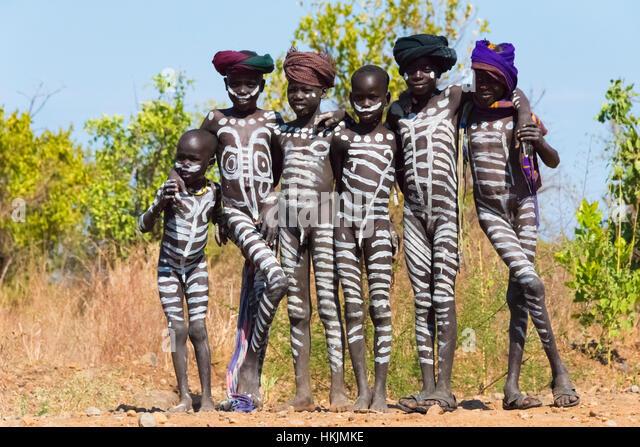 Tribe boys