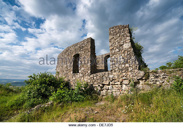 Germany, Baden Wuerttemberg, Constance, View of ruin of St Ursula chapel - Stock Image