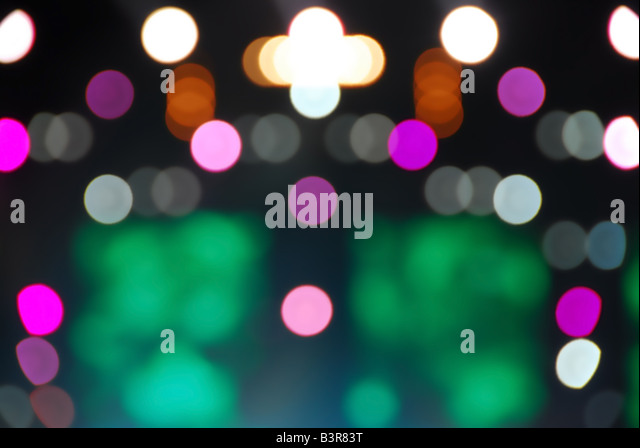 glowing light background - Stock Image