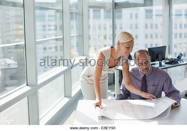 Business people working together in office - Stock-Bilder