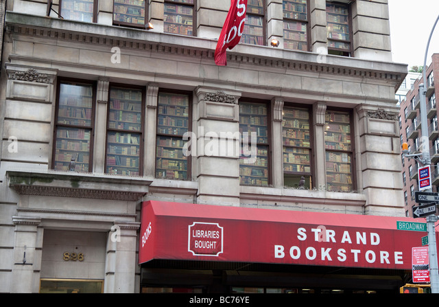 Strand Bookstore NYC - Stock Image