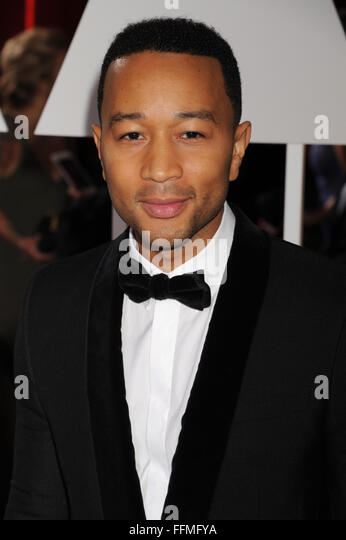 John Legend, 22.02.2015 - Stock Image