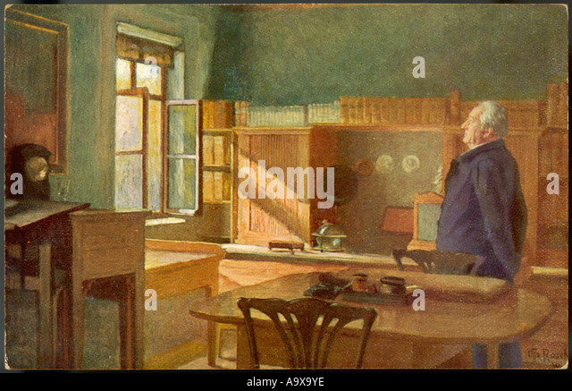 Goethe In His Study - Stock-Bilder