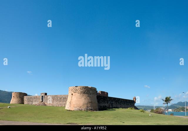 Fortaleza de San Felipe, Puerto Plata, North Coast, Dominican Republic, Caribbean - Stock Image