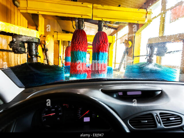 how to use a car wash station