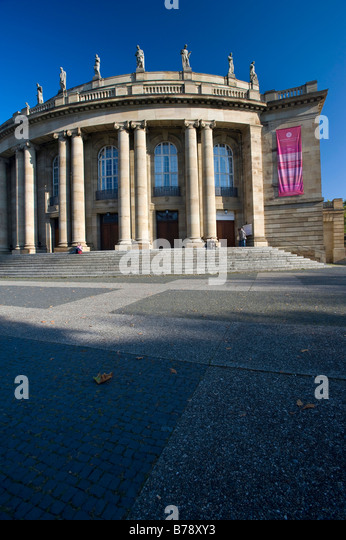 The Opera, Stuttgart, Baden-Wuerttemberg, Southern Germany, Europe - Stock-Bilder
