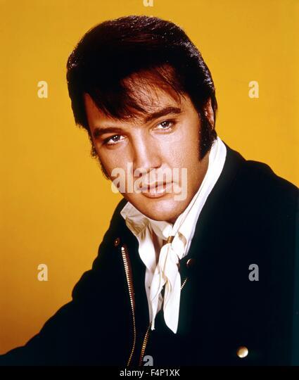 Elvis Presley in 1969 - Stock Image