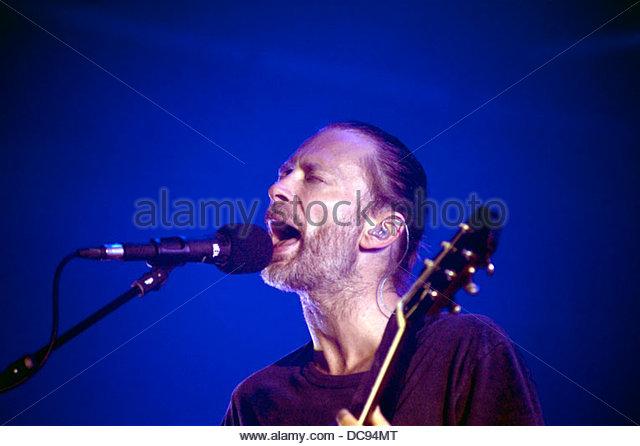 atom for peace 2 Concert 07/10/2013 - Stock-Bilder