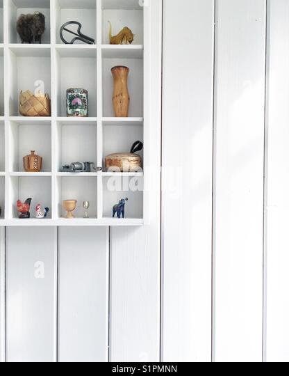 Living minimalism style - Stock Image