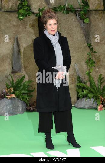 London, UK. 14th January, 2018. Selina Griffiths, Early Man - World premiere, BFI IMAX, London UK, 14 January 2018, - Stock Image