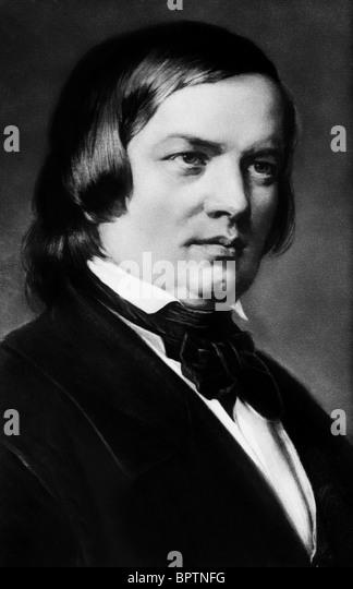 ROBERT SCHMANN COMPOSER (1850) - Stock-Bilder