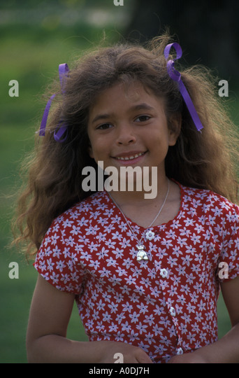 portrait of child - Stock Image