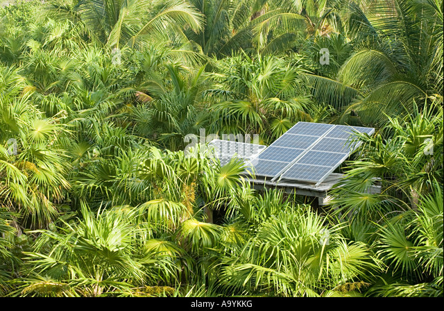 Solar energy panel - Stock Image