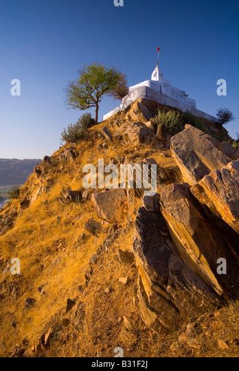 Pap Mochani Temple, Pushkar, Rajasthan, India, Subcontinent, Asia - Stock-Bilder