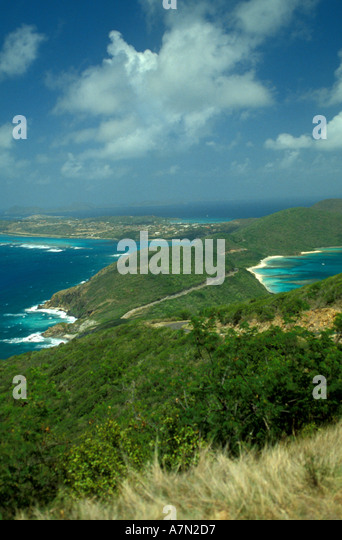 British Virgin Islands Virgin Gorda - Stock Image