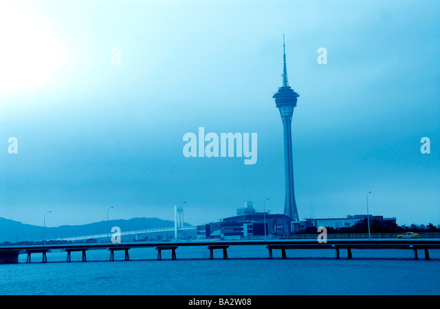 Tower, Macau, China - Stock Image