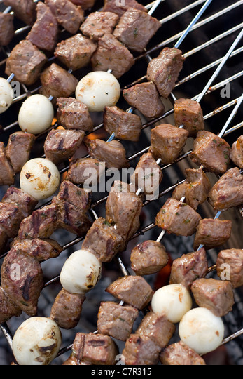 Charcoal Cooking Stock Photos & Charcoal Cooking Stock Images - Alamy