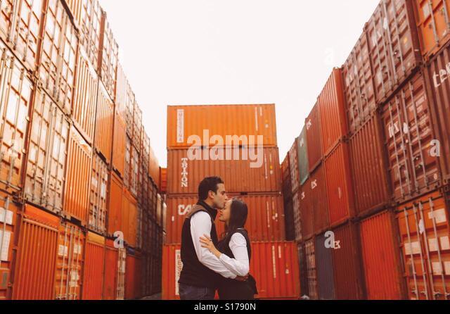 Container - Stock-Bilder