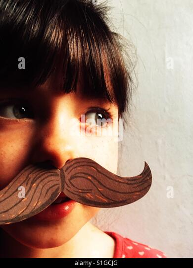 Comedy moustache - Stock-Bilder