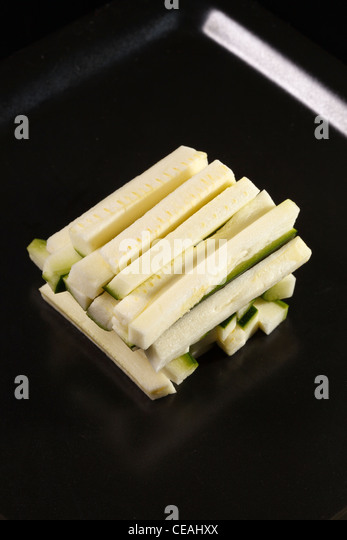 courgette sticks - Stock Image