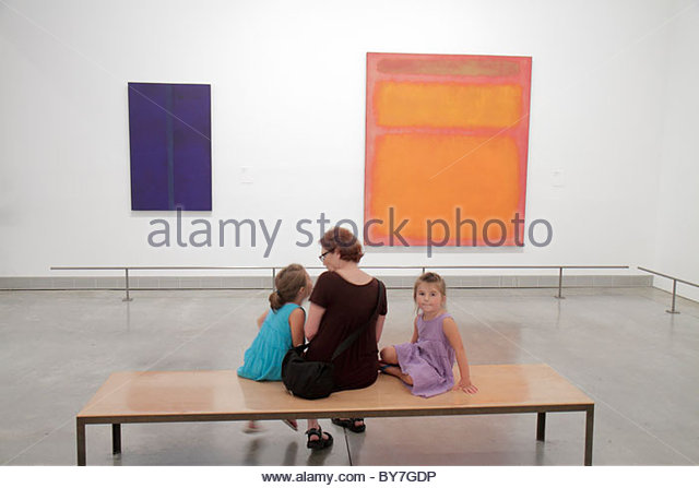 Pennsylvania Philadelphia Philadelphia Museum of Art institution exhibition Modern collection painting artwork Mark - Stock Image