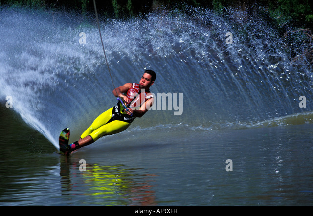 Skier carving stock photos images