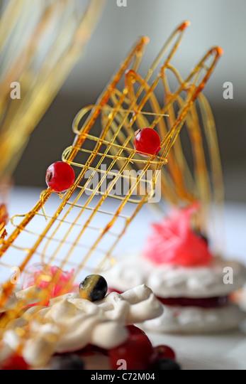 caramel art - Stock Image