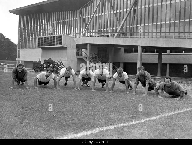 Soccer - Crystal Palace Training - National Recreation Centre, Crystal Palace, London - Stock Image