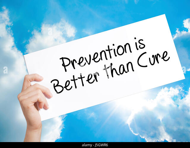 Corruption prevention is better than cure