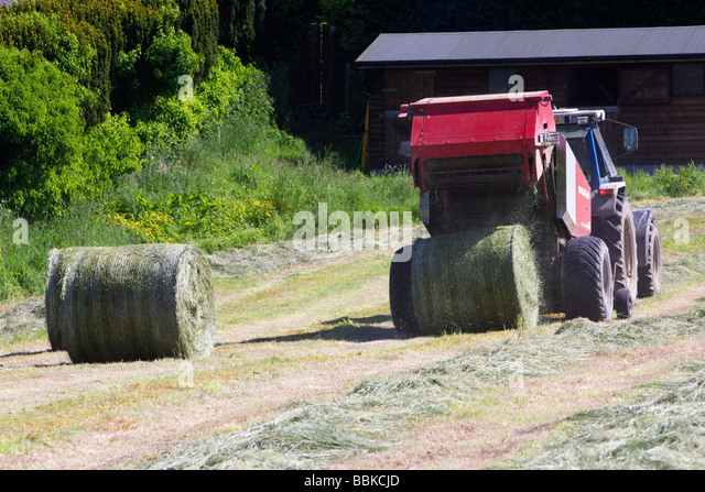 how to make silage bales