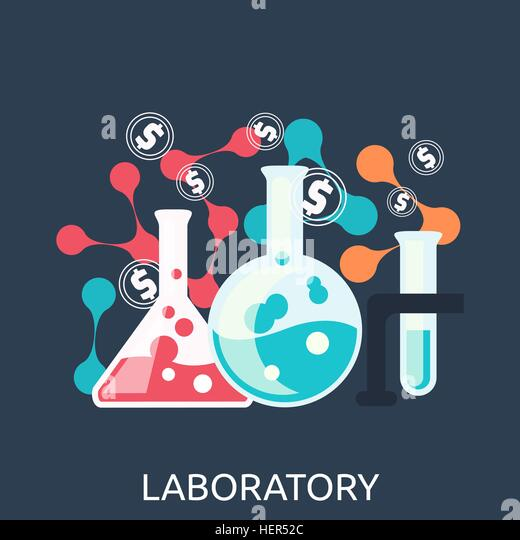 Chemistry Education Research Laboratory Equipment. Laboratory equipment. Chemistry education research laboratory - Stock-Bilder