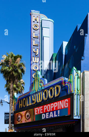 Ripley's Guinnes World Records Museum Hollywood Boulevard, Hollywood, Los Angeles, California, USA - Stock Image