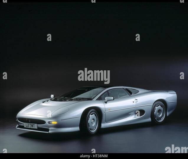 1993 Jaguar XJ220. Artist: Unknown. - Stock Image