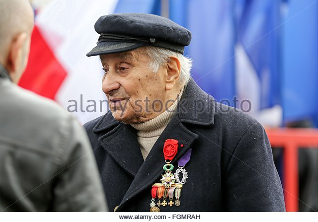 Ivry-sur-Seine, France. février 21st, 2016. FRANCE, Ivry-sur-Seine: French militant of Armenian descent Arsène - Stock Image