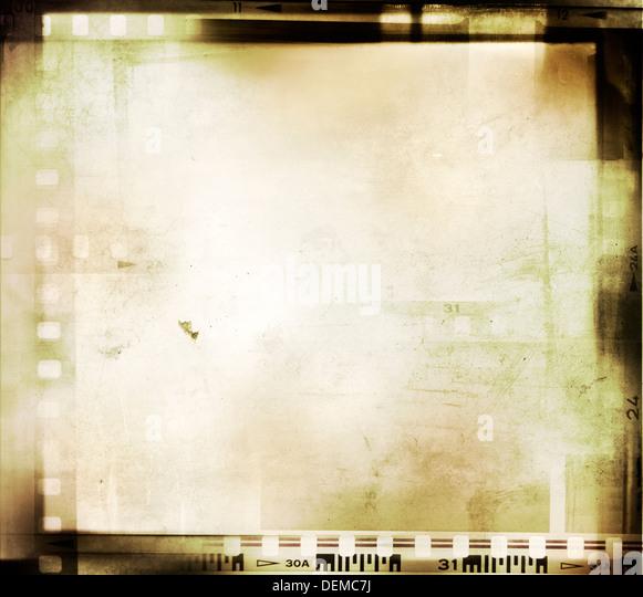 Film negative frames, film strips - Stock Image