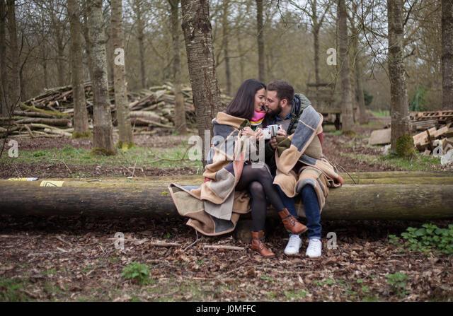 Love, Romance and Hygge - Stock-Bilder