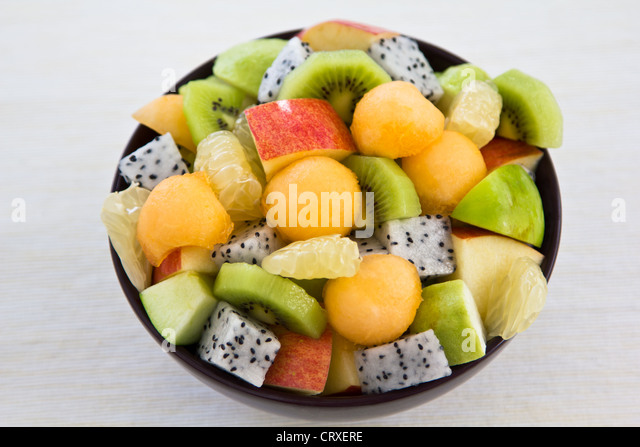 Fruits salad - Stock Image