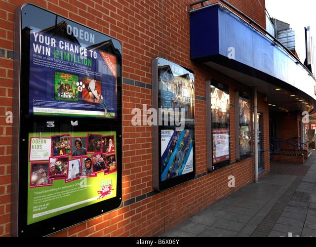 Odeon Cinema Epsom Surrey - Stock Image