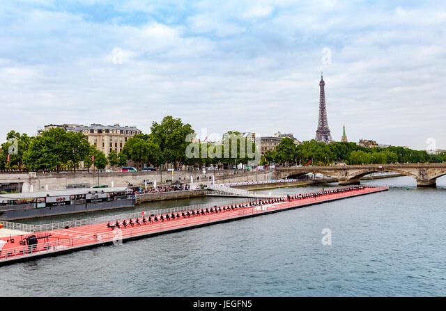 Paris, France. 24th Jun, 2017. Musicians perform a concert during the Olympic Games Paris 2024 showcase. Credit: - Stock Image