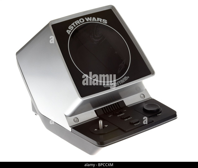 vintage astro wars retro electronic video game by grandstand - Stock Image